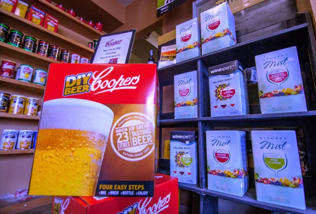 Coopers Beer Kit + Wine Inventory