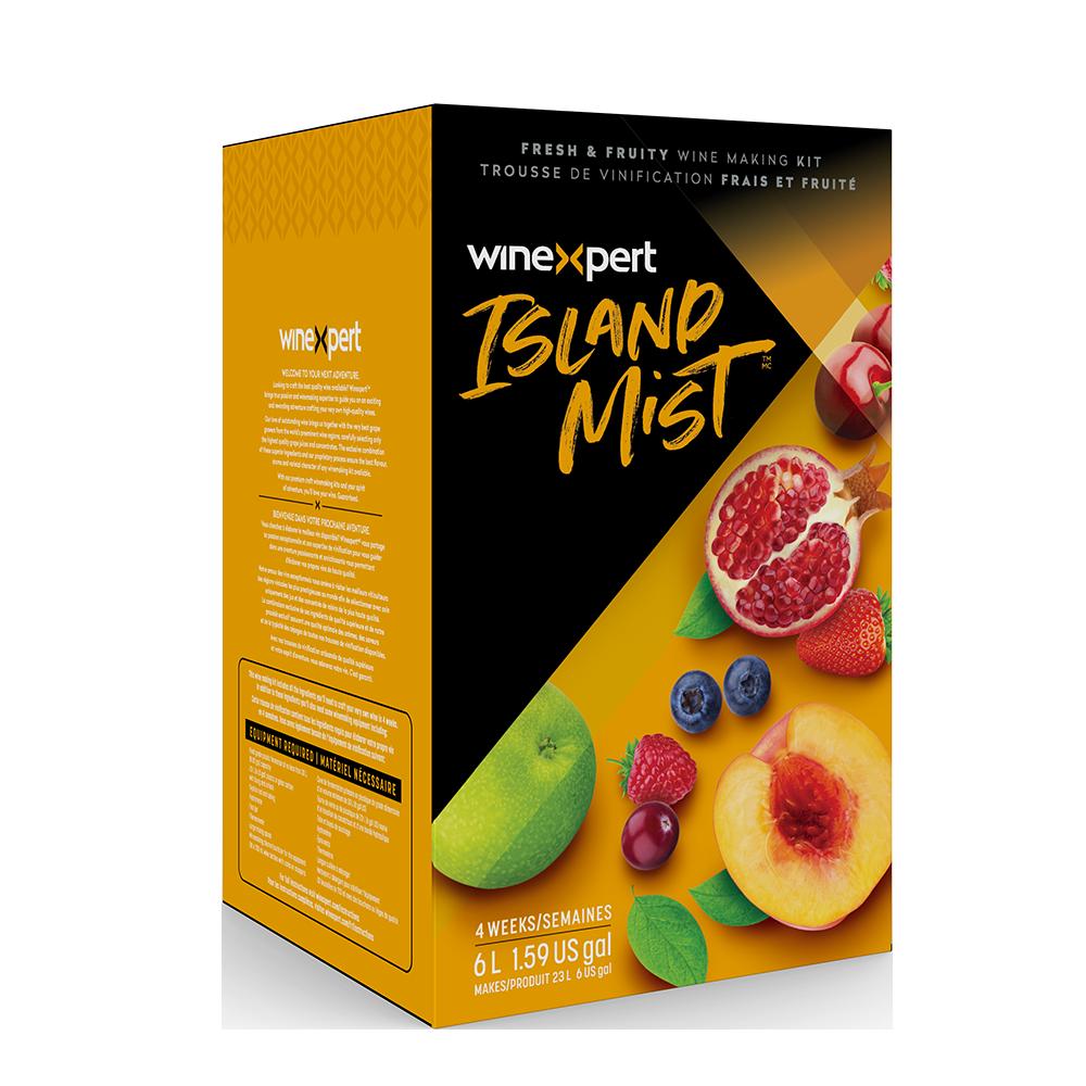 Island Mist Wine Making Kit Packaging